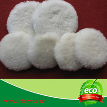 wholesale sheep wool polishing/buffing pads for car