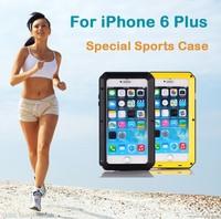 Wholesale Luxury Metal Hard Phone Back Cover Aluminium For iPhone 6 4.7'' & Plus 5.5'' Armor Case Celular Capa Cover