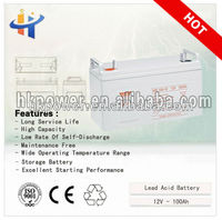 telecom battery 12v 100ah front access vrla battery 12v 100ah