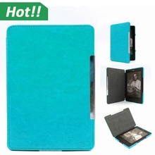 2015 New Arrival Cheap Wholesale Pocket Book Protective Case for Kindle 4 5 Sky Blue