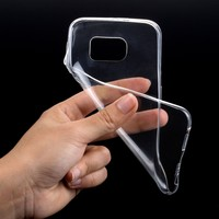 Newest slim TPU case for Samsung note5 with transparent color cover case