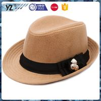 Factory direct sale good quality straw bowler hat on sale