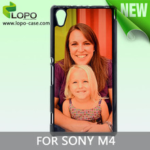 Fancy sublimation cover for mobile phone for Sony M4 Aqua