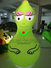 commercial cheap advertising cartoon PVC inflatable LED barbapapa cartoon