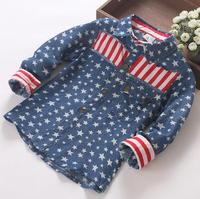 AUTUMN BLOUSE DESIGNS FOR KIDS,WHOLESALE BOUTIQUE CLOTHING,BOYS STAR SHIRTS