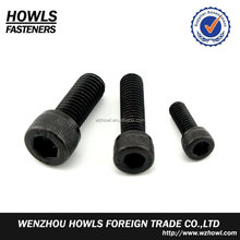 hex socket head cap screw black hexagon socket cap screws