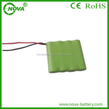 nimh rechargeable battery 4.8v ni-mh 2/3aa battery pack