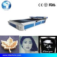 Jinan crystal 3d laser photo machine1325/laser engraver price/laser engraving machines on metaling