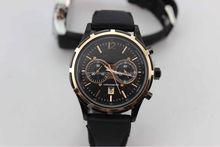 six hands quartz alloy case cheap price men's chronograph hot watch with silicone bands japan quartz movement