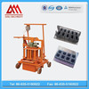 QMJ2-45 block making machine, mobile machine, concrete hollow bricks maker machine