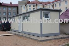 Dormitory and industrial purpose containers, facility containers