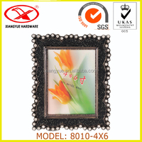 4*6 Inch Black Wall Photo