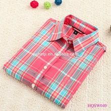 venta al por mayor de china nuevo diseño de la camisa de la mujer
