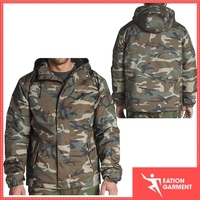 polyester winter waterproof jackets army camo outdoor hunting jacket