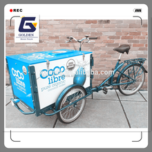 wholesale luxury 3 wheel electric ice cream cars for sale cargo trike manufacturer