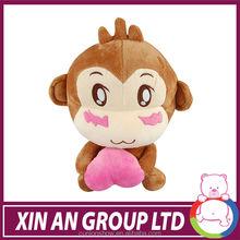 Lovely stuffed plush sock monkey toys