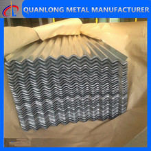 zn/zinc/galvanized corrugated iron sheet price