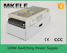 s-100-24 mingwei single output switching model power supply universal smps 100w 24v