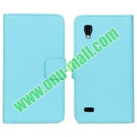 PU Material Leather case cover for lg p760 optimus l9 p765