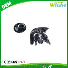 Winho Antique Finish Greek Battle Helmet Lapel Pin Badge