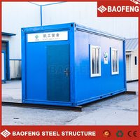 Charming Good insulated Prefab  modular container house