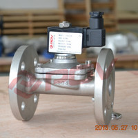 1 inch 220v direct acting 25mm flange connect solenoid valve