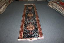 handmade hand knotted silk runner,silkcarpet for sale