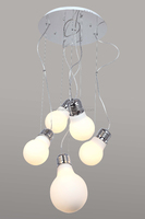 Modern Countryside Style Glass Hanging Lamp,Chandeliers lamp