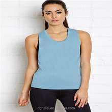 Dry fit loose fit fresh stringer tank top for women