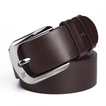 Men's Leather Belt Classic Buckle Factory Price