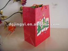 Wholesale Christmas tree handmade paper bags