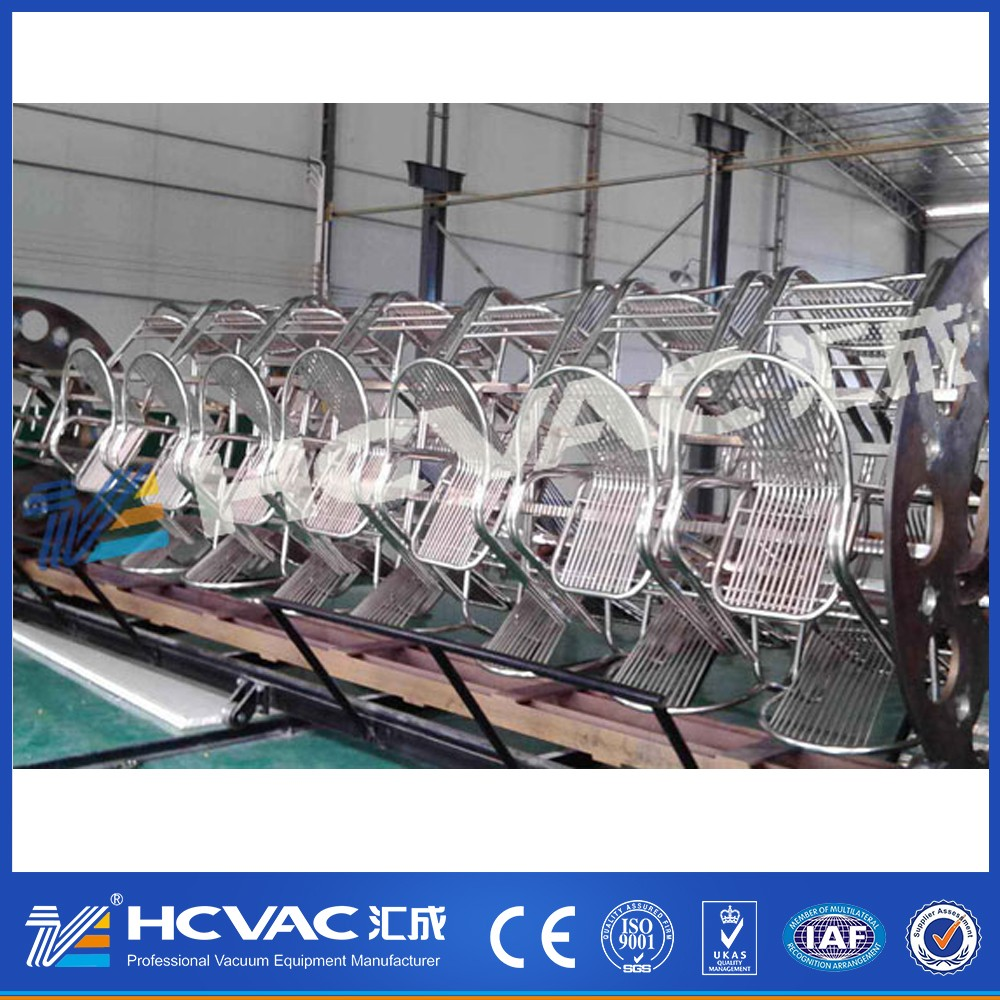 Stainless steel pipes decoration PVD coating machine
