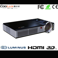 Coolux S2 Full HD 3D LED Projector 1080P HDMI1.4A