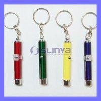 Promotion Light Logo Custom LED Chain Projector Keychain