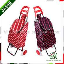 two wheel shopping trolley bag deep butterfly