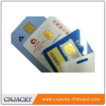 ISO SLE5542/5528 Smart Chip Card (Factory Price)