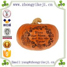 factory custom-made handmade carved fashion craft resin pumpkins