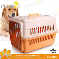 Best safty wire pet kennel strong pet cage sloping dog cages