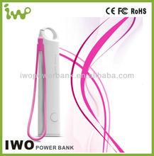Hot sale mini usb 2400mah portable Power Bank for laptop mobile phones best quality external battery charger