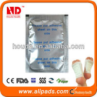 Chinese Traditional Herbs Transdermal foot patch