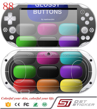 Colorful decorative game console for PS vita 2000 skin stickers