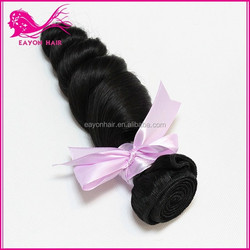 Eayon factory price 100% loose wave indian remy hair weft sealer for hair extensions