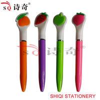 Fruit Shaped Top Plastic Ball Pen(SQ6893)