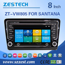 8inch Car Dvd player For VW SANTANA BORA 2013 with radio audio function