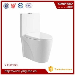 High quality made in China siphonic one piece ceramic toilet