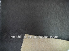 hign quality PVC leather for sofa and chair,flocked backing