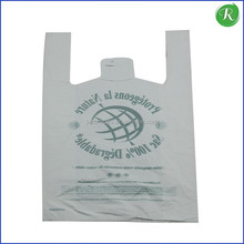 Hot China products wholesale tshirt shopping plastic bag for food