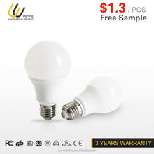 free sample cost of powerful led bulb 1383
