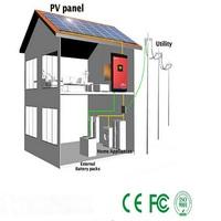 High quality , solar inverter power system 1KW 24V , hybrid for home power 1kva generator, high quality solares system