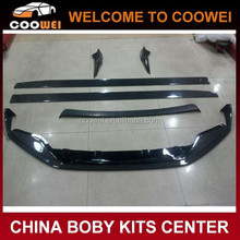 High quality carbon fiber material lip kits(front lip/side skirts rear diffuser) for Lexus GS250 GS300 GS350